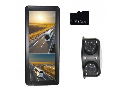"""AHD kamerový set s monitorem 12,3"""", dvojitá kamera, DVR - sv123AHDMR"""