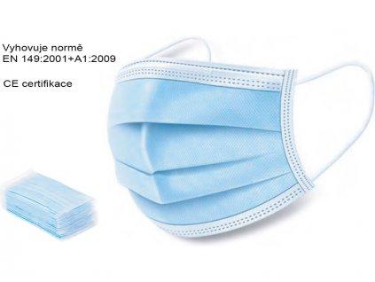 Ústenka (ochranná rouška) 3-vrstvá 20ks - A9921