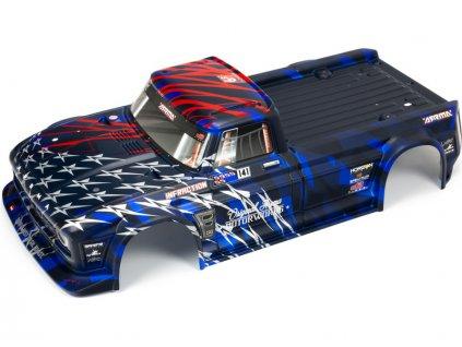 Arrma karosérie modrá: Infraction 6S BLX - ARA410005