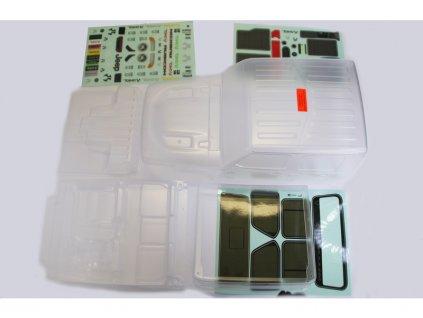 Axial karosérie nenabarvená: SCX10 III Jeep JT Gladiator - AXI230026