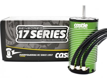 Castle motor 1717 1650ot/V senzored - CC-060-0081-00
