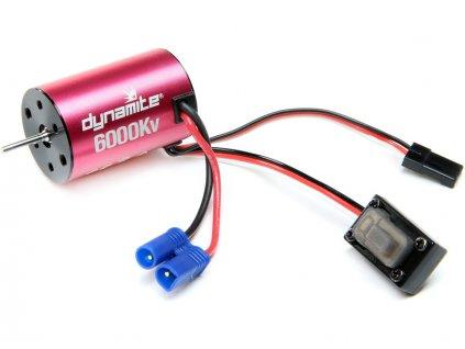 Dynamite střídavý motor 6000ot/V, regulátor: Mini-T 2.0 - DYNS0501