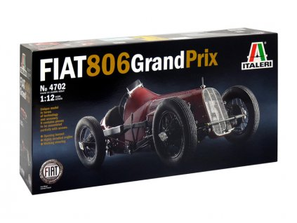 Italeri auto 4702 - FIAT 806 GRAND PRIX (1:12) - IT-4702