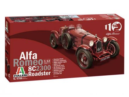 Italeri Alfa Romeo 8C 2300 Roadster (1:12) - IT-4708
