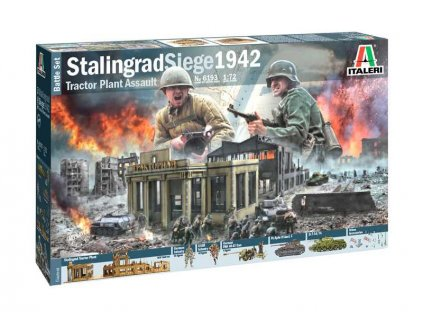 Italeri diorama obležení Stalingradu 1942 (1:72) - IT-6193