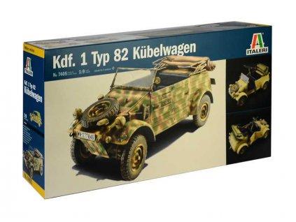 Italeri Kdf.1 Typ 82 Kübelwagen (1:9) - IT-7405