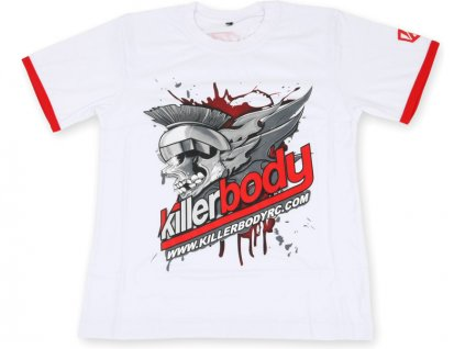 Killerbody tričko bílé M - KB20001M