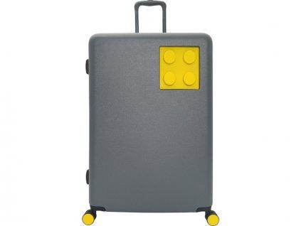 """LEGO Luggage Cestovní kufr Urban 24"""" - šedý/žlutý - LEGO20153-1962"""