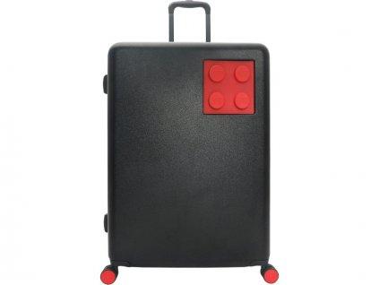 """LEGO Luggage Cestovní kufr Urban 24"""" - černý/červený - LEGO20153-1963"""