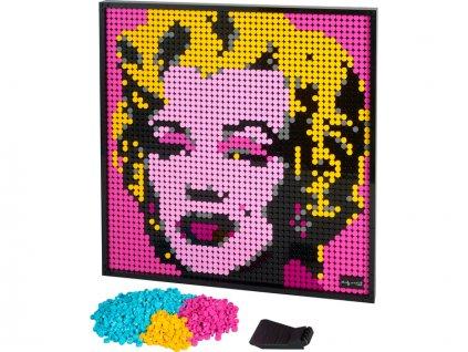 LEGO Art 2020 - Andy Warhol's Marilyn Monroe - LEGO31197