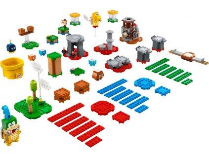 LEGO Super Mario - Set pro tvůrce – mistrovská dobrodružství - LEGO71380
