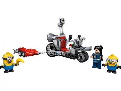 LEGO Minions - Divoká honička na motorce - LEGO75549