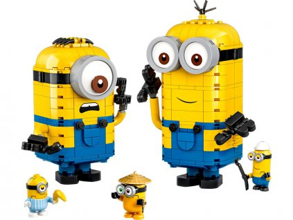 LEGO Minions - Mimoni a jejich doupě - LEGO75551