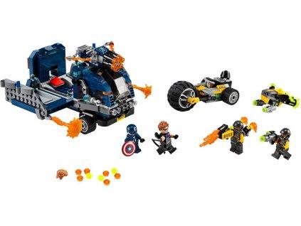 LEGO Avengers - Boj o náklaďák - LEGO76143