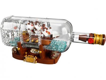 LEGO Ideas - Loď v láhvi - LEGO92177