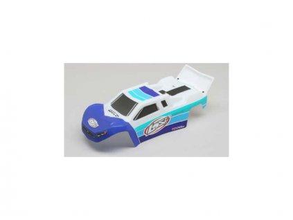 Losi karosérie modrá/bílá: Mini-T 2.0 BL - LOS210018