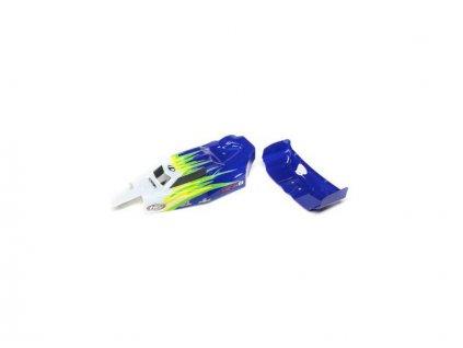 Losi karosérie, křídlo modrá/bílá: Mini-B - LOS210019