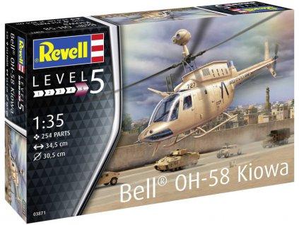 Revell Bell OH-58 Kiowa (1:35) - RVL03871