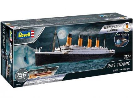 Revell EasyClick RMS Titanic + 3D Puzzle (Iceberg) (1:600) - RVL05599