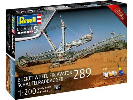 Revell Bucket Wheel Excavator 289 / Schaufelradbagger 289 (1:200) (Gift-Set) - RVL05685