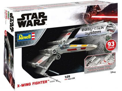 Revell EasyClick SW - X-Wing Fighter (1:29) - RVL06890