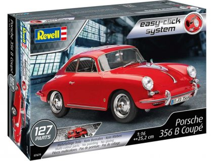 Revell EasyClick Porsche 356 B Coupe (1:16) - RVL07679