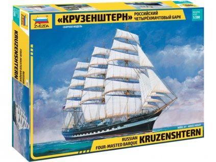 Zvezda Kruzenshtern Sailingship (1:200) - ZV-9045