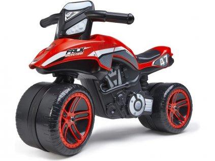 FALK - Dětské odrážedlo Moto Racing Team ride-on červené - FA-530