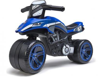 FALK - Dětské odrážedlo Moto Racing Team ride-on modré - FA-531