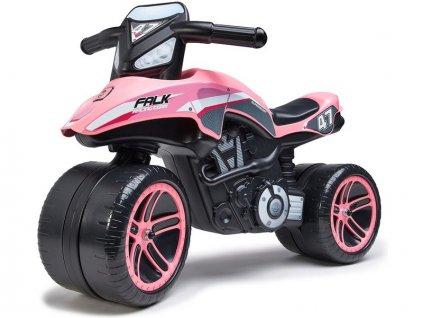 FALK - Dětské odrážedlo Moto Racing Team ride-on růžové - FA-538