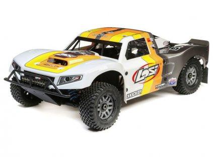 Losi 5ive-T 2.0 V2 1:5 4WD SCT BND oranžová - LOS05014V2T2