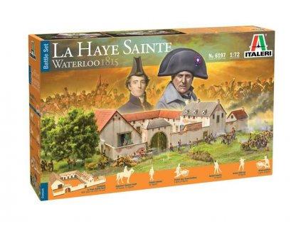 Italeri Waterloo 1815 La Haye Sainte (1:72) - IT-6197