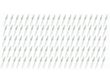 Graupner COPTER Prop 5x3 pevná vrtule (100ks.) - bílá - 1347N5x3NH