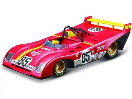 Bburago Signature Ferrari 312 P 1972 1:43 - BB18-36302
