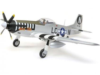 E-flite P-51D Mustang 1.2m SAFE Select BNF Basic - EFL89500