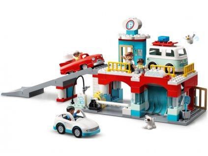 LEGO DUPLO - Garáž a myčka aut - LEGO10948