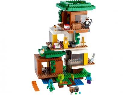LEGO Minecraft - Moderní dům na stromě - LEGO21174