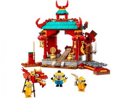 LEGO Minions - Mimoňský kung-fu souboj - LEGO75550