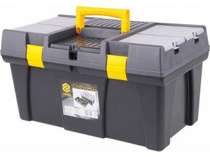 """Box na nářadí plastový 23"""", 2 zámky TOYA"""