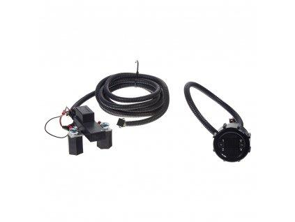 Automatické relé pro dobíjení druhé baterie 12V/250A + voltmetr - pc4-32a
