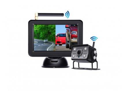 """SET bezdrátový digitální kamerový systém s monitorem 5"""" AHD, 2CH - svwd501setAHD"""