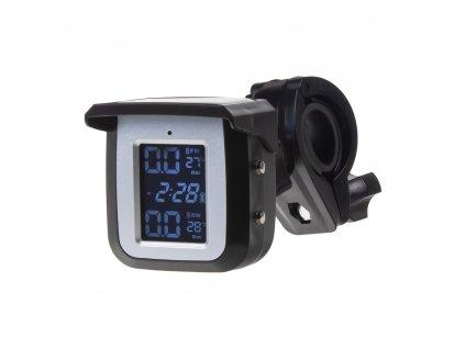 TPMS kontrola tlaku v pneumatice pro motocykly / solární napájení - tpmsM-x1