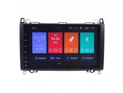 "Autorádio pro Mercedes s 9"" LCD, Android 10.0, WI-FI, GPS, Mirror link, Bluetooth, 2x USB - 80809A"
