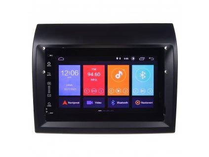 """Autorádio pro FIAT/CITROEN/PEUGEOT s 7"""" LCD, Android 10.0, WI-FI, GPS, Mi-link, Bluetooth, 3x USB - 80887A"""