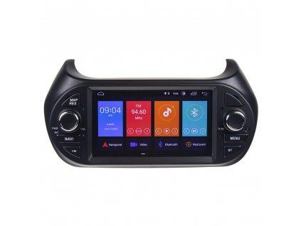 """Autorádio pro FIAT/CITROEN/PEUGEOT s 7"""" LCD, Android 10.0, WI-FI, GPS, Mi-link, Bluetooth, 3x USB - 80886A"""