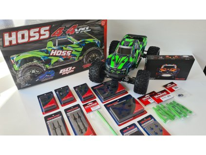 Traxxas Hoss 1:10 VXL 4WD RTR plný tuningu - TRA90076-4-QX