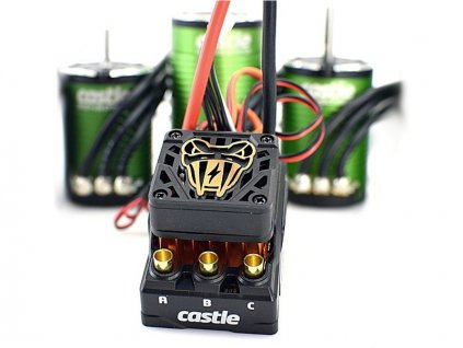 Castle motor 1412 3200ot/V senzored, reg. Copperhead - CC-010-0166-09