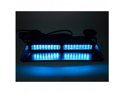 PROFI výstražné LED světlo vnitřní, 12-24V, modré, ECE R65 - 911-X9visorBLU