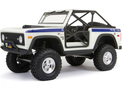 Axial SCX10 III Early Ford Bronco 4WD 1:10 bílý - AXI03014T2