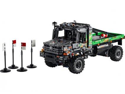 LEGO Technic - Truck trialový vůz Mercedes-Benz Zetros 4x4 - LEGO42129
